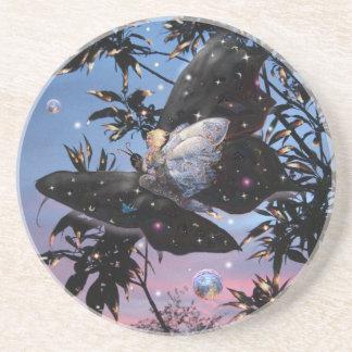 Fairy Flight! Sandstone Coaster