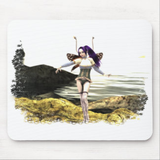Fairy  ~  Float, Flutter, Fly Mouse Pad