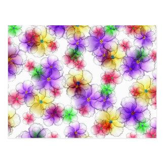 Fairy Florets Flip Flops Postcard