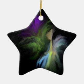 Fairy Flower Ceramic Ornament