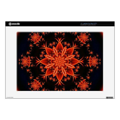 """Fairy flower dance 15"""" laptop skins"""