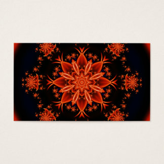 Fairy flower dance business card