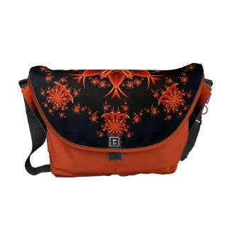 Fairy flower dance courier bag