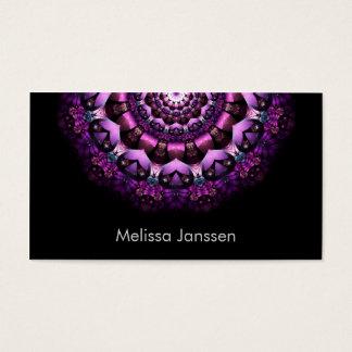 Fairy Flower - Mandala- Business Card