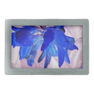 Fairy flowers belt buckle