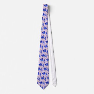 Fairy flowers neck tie