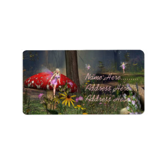 Fairy Forest Address labels