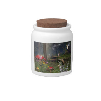 Fairy Forest candy Jar