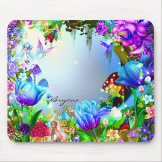 Fairy Forest Enchanted Magical Computer Mouse Pad