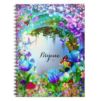Fairy Forest Enchanted Magical Notebook