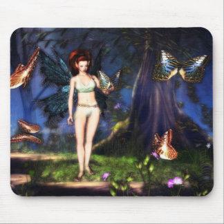Fairy Forest Flutter mousepad