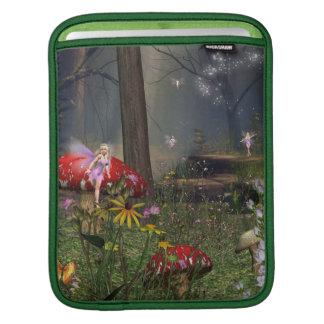 Fairy forest iPad sleeve
