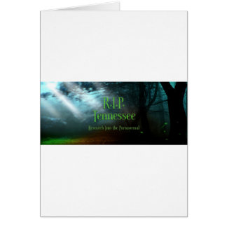 Fairy Forest Logo RIP Tennessee Greeting Card