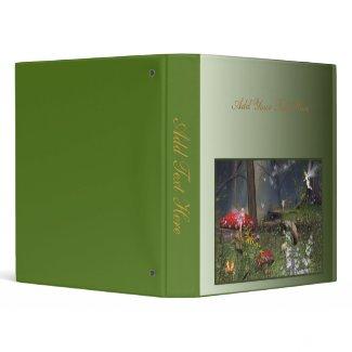 Fairy Forest Night Binder 2 binder