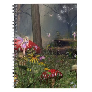 Fairy forest notebook