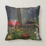 Fairy forest Pillow