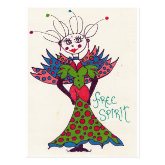 Fairy Free Spirit Postcard