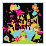 Fairy Fun Customized Birthday Invitations