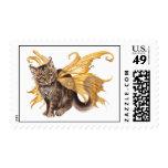 Fairy Fuzzy Postage Stamp