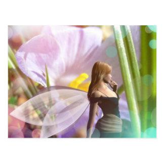 fairy garden magic Postcard