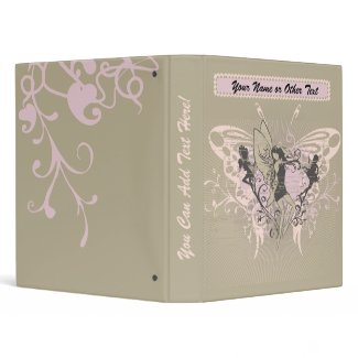 Fairy Garden Photo Binder binder