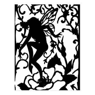 Fairy Garden Post Card