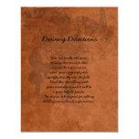 Fairy Garden Wedding Informational Sheet Custom Invitations
