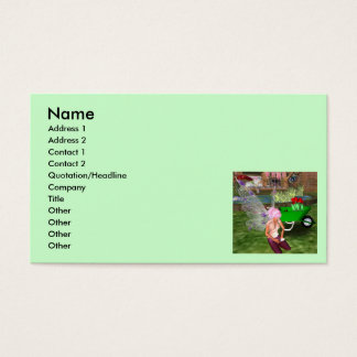 Fairy Gardener Business Card
