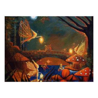 Fairy Gathering - Print