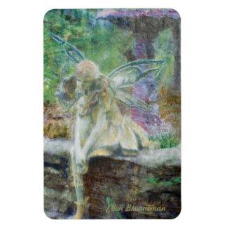 Fairy Gazing by Ellen Brenneman Rectangular Photo Magnet