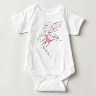 Fairy Girl Baby Bodysuit