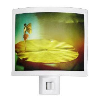 Fairy Girl on Lilypad Night Light