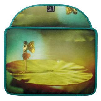 Fairy Girl on Lilypad Sleeve Sleeve For MacBooks