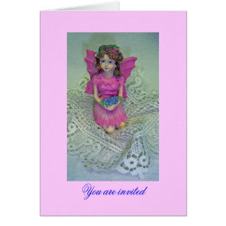 Fairy Girl Stationery Note Card