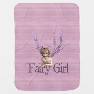 Fairy Girl Stroller Blanket