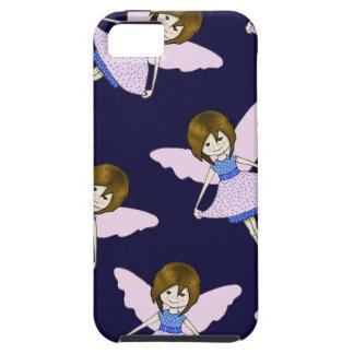 Fairy Girl with Wings, Random Pattern, Art iPhone SE/5/5s Case
