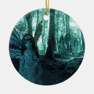 Fairy Glade Ceramic Ornament