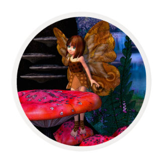 Fairy Glen Edible Frosting Rounds