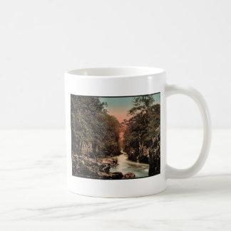 Fairy Glen II, Bettws-y-Coed (i.e. Betws), Wales r Classic White Coffee Mug