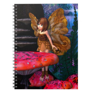 Fairy Glen Spiral Note Book