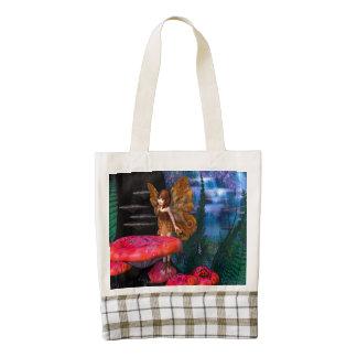 Fairy Glen Zazzle HEART Tote Bag
