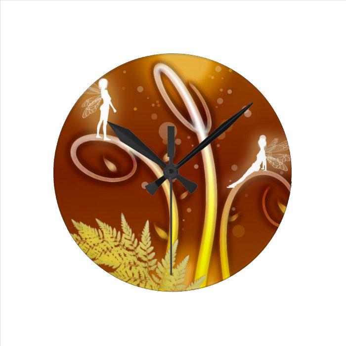 fairy glit clock