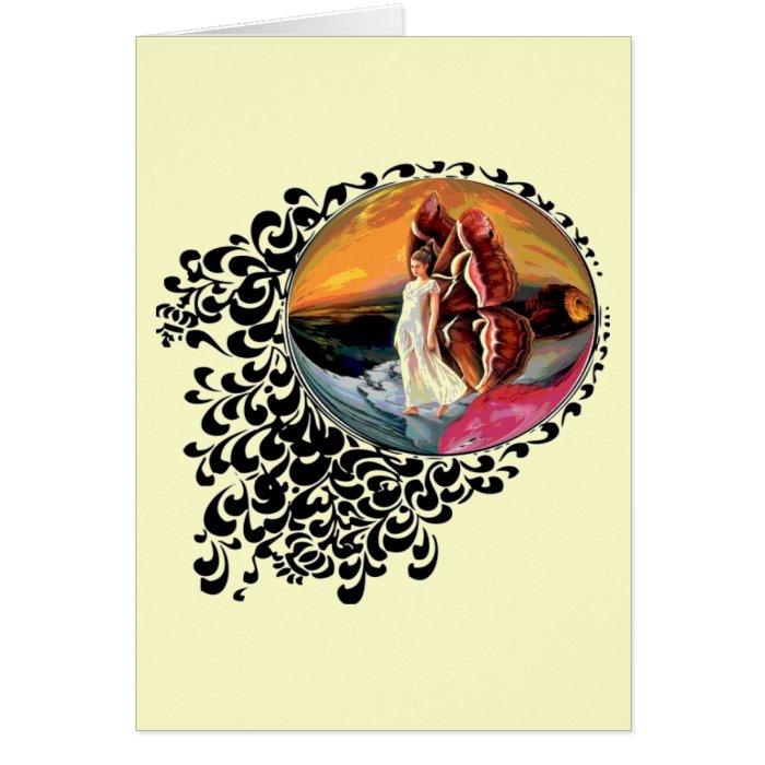 Fairy Globe Note Card