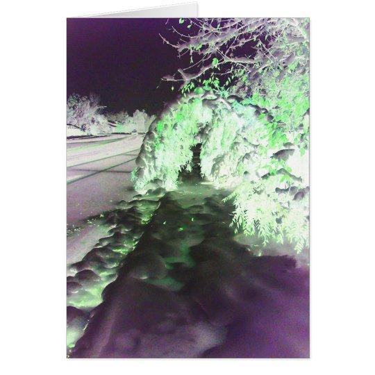 Fairy Glow Green Greeting Card