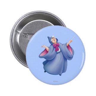 Fairy Godmother 2 Inch Round Button