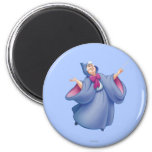 Fairy Godmother 2 Inch Round Magnet