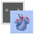 Fairy Godmother 2 Inch Square Button