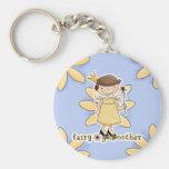 Fairy Godmother Basic Round Button Keychain