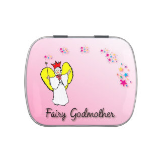 Fairy Godmother Jelly Belly Candy Tin