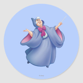 Fairy Godmother Classic Round Sticker
